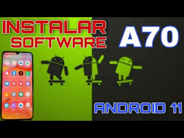 stock rom galaxy A70 / A705MN instalação da rom original Android 11 recuperar sistema binario 5