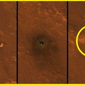 A sonda InSight da NASA descobriu algo incrível em Marte!