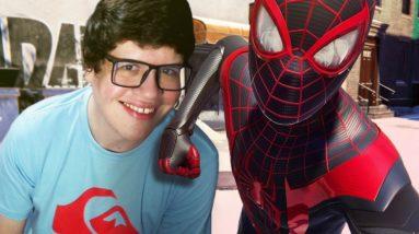 ARANHA TOMBO O CRIME! - Spider-Man Miles Morales (PS5)