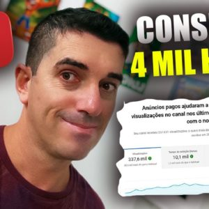 Como Conseguir as 4 mil Horas e os Mil inscritos no Youtube