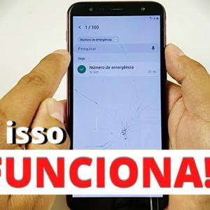 Desbloquear Samsung J6, J6 Plus Conta Google, SEM pc, SEM chip, SEM fone,