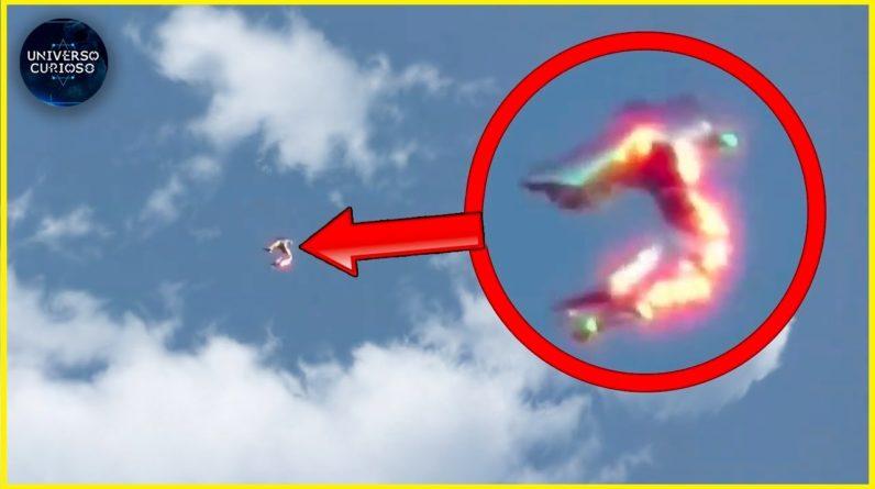 Eles capturaram algo INCRÍVEL no céu!