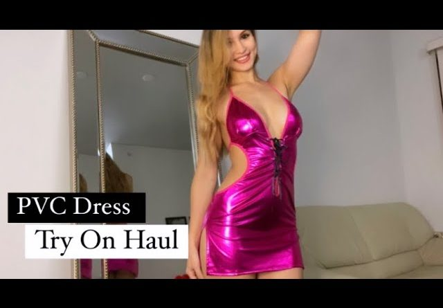 Faux Leather Dresses Try On Haul