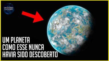 FInalmente a NASA descobriu um planeta que pode ser habitado!