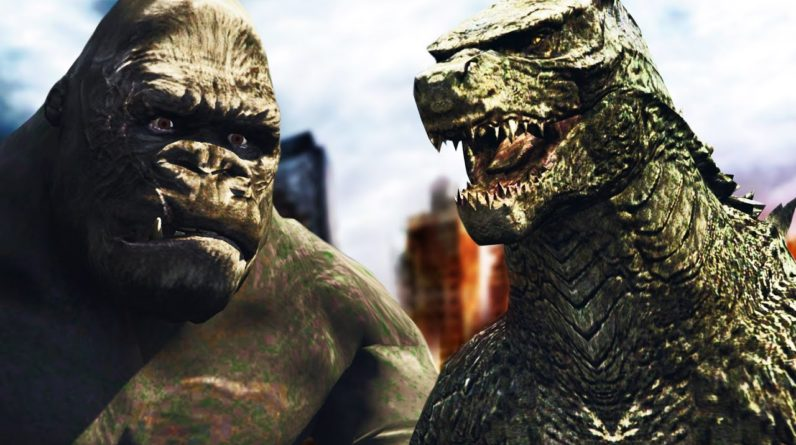 GTA V PC - Godzilla vs. Kong A LUTA BUGADA (MODS)