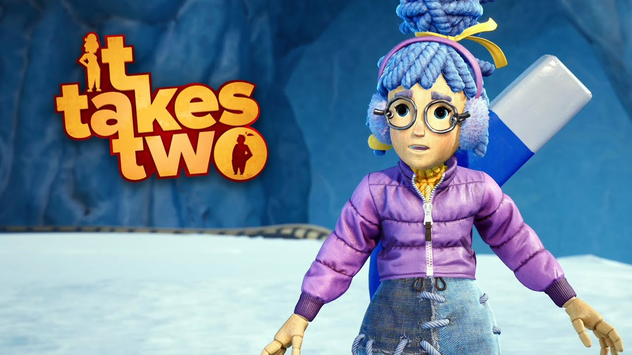 IT TAKES TWO #13 РCr̫nicas de Gelo e Neve! | Coop com @MaxMRM GAMEPLAY