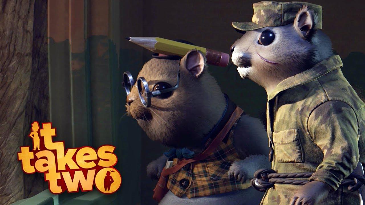 IT TAKES TWO #3 РO Ex̩rcito de Esquilos! | Coop com @MaxMRM GAMEPLAY