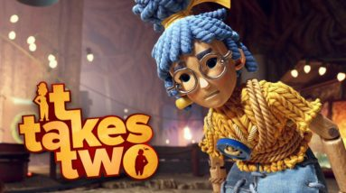 IT TAKES TWO #7 - Os Perigos do Espaço! | Coop com @MaxMRM GAMEPLAY