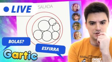 LIVE - GARTIC COM A NETOLAB - PROIBIDO ESFIRRA! [+10]