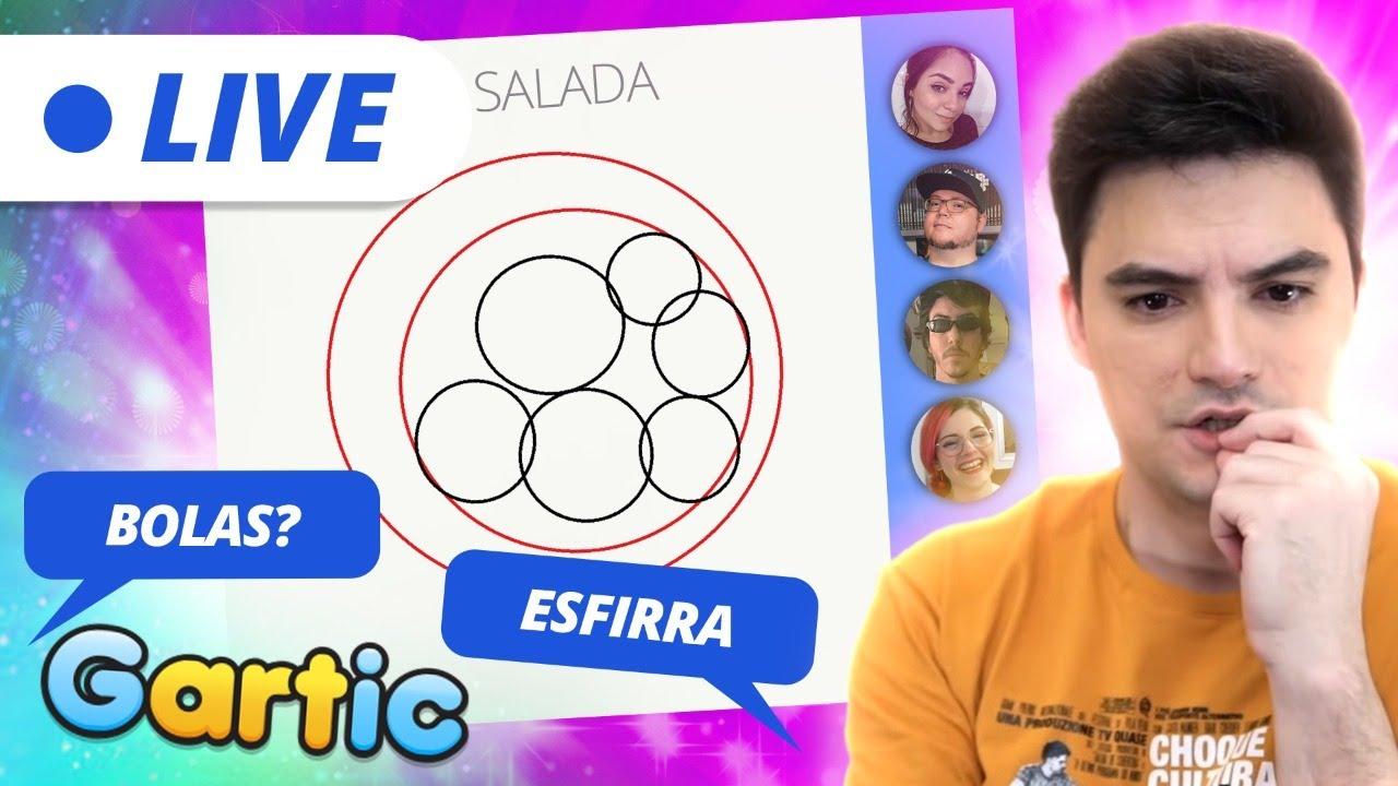LIVE – GARTIC COM A NETOLAB – PROIBIDO ESFIRRA! [+10]