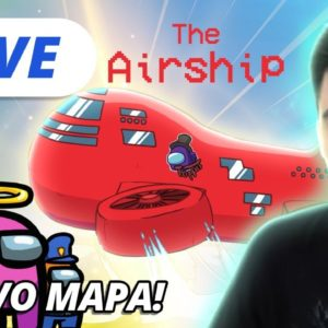 LIVE - O NOVO MAPA DO AMONG US! [+10]