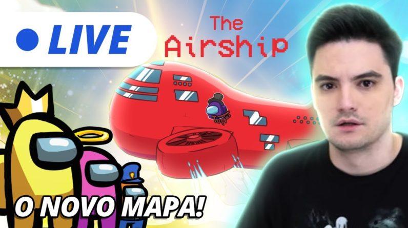 LIVE - O NOVO MAPA DO AMONG US! [+10]