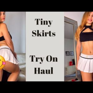 Mini Skirts Try On Haul