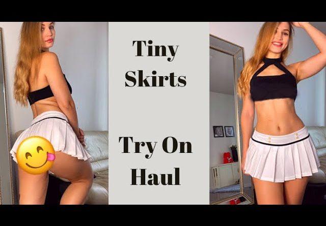 Mini Skirts Try On Haul