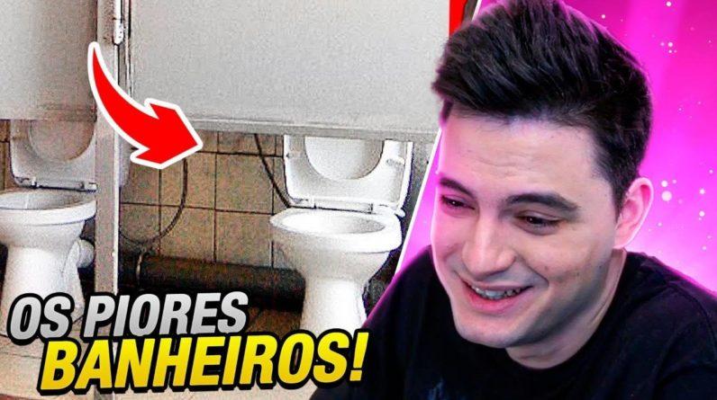PIORES BANHEIROS DO MUNDO!