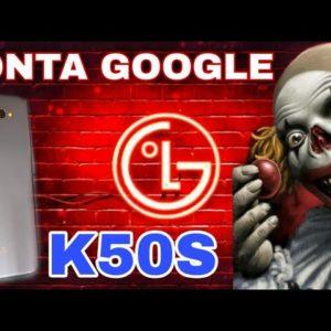 remover conta Google lg k50S Android 10 método 100% infalível método 3
