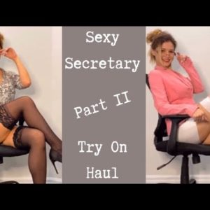 Secretary Try On Haul-- Part 2