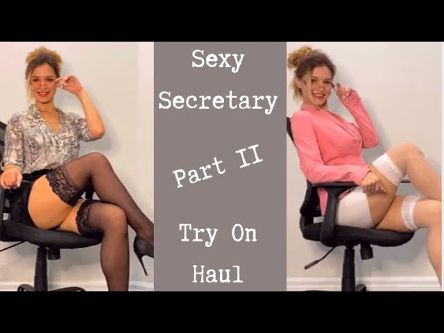 Secretary Try On Haul– Part 2
