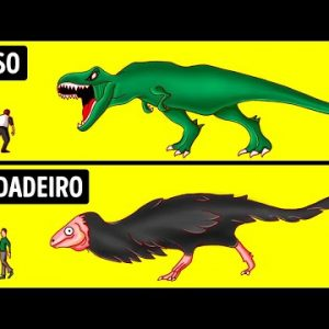 Os Dinossauros Não Se Pareciam Nada Como Nos Filmes, e Outros 30 Mitos em que Acreditamos