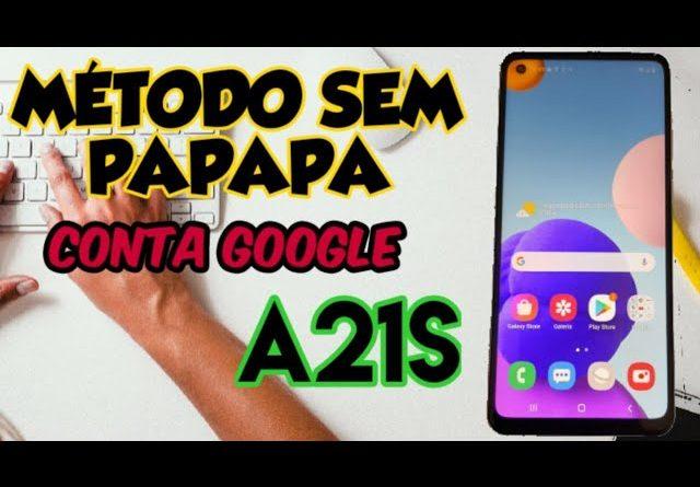remover conta Google  A21s / A51/ A71/ M31 / A80 método funcional quando não dar pra pular a conta
