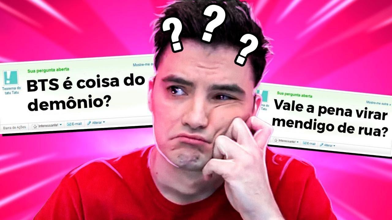 AS ÚLTIMAS PERGUNTAS DA VIDA!