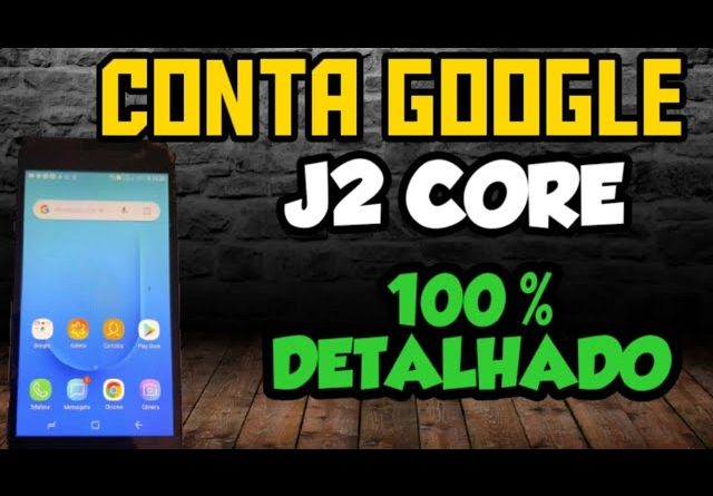 desbloquear conta google J2 CORE / J2600M quando barra de notificações não desce 100%