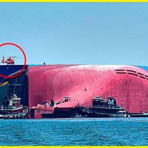 Eles encontraram esse INCRÍVEL navio abandonado!