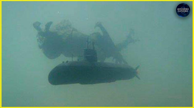 Essa criatura ATERRORIZOU um submarino no fundo do mar!