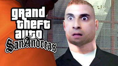 GTA San Andreas #21 - Roubou Moto do ENTREGADOR de PIZZA!?
