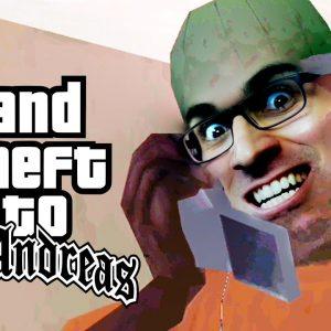 GTA San Andreas #24 - Uma Rocha PECULIAR!