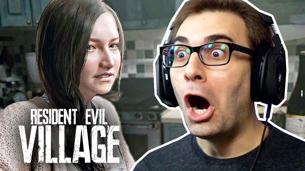 RESIDENT EVIL Village – O Início de Gameplay!   Dublado e Legendado em Português PT-BR