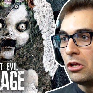RESIDENT EVIL Village #10 - Fuga da Casa de Bonecas! | Dublado e Legendado em Português PT-BR