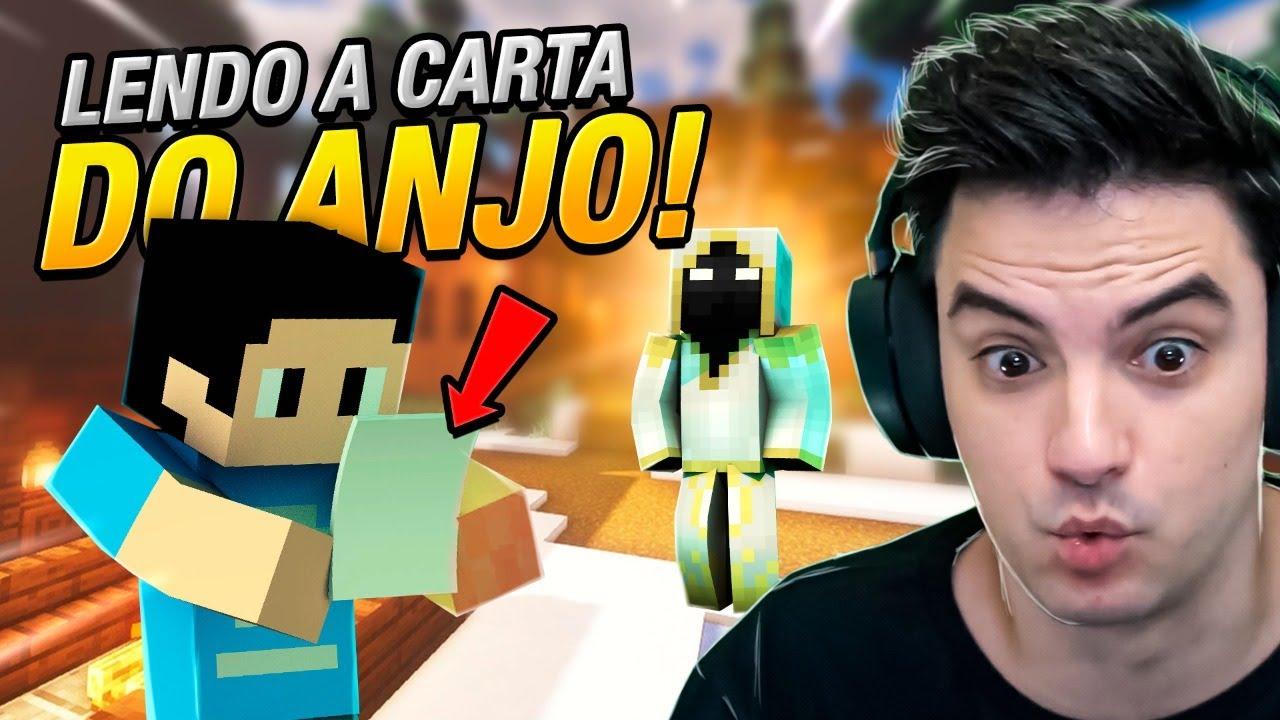 LENDO A CARTA DO ANJO!