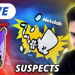 LIVE - SUSPECTS COM A NETOLAB! [+10]
