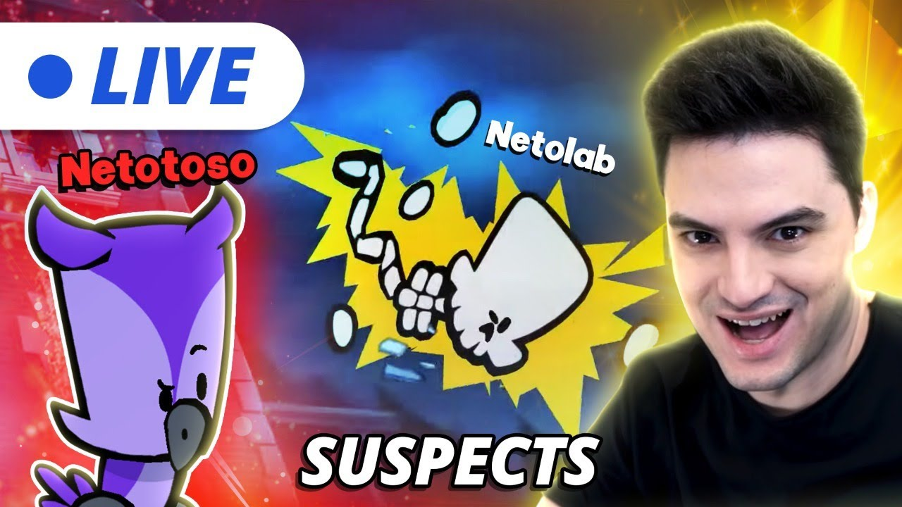 LIVE – SUSPECTS COM A NETOLAB! [+10]