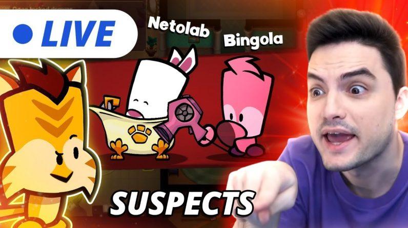 LIVE - SUSPECTS COM NETOLAB! [+10]