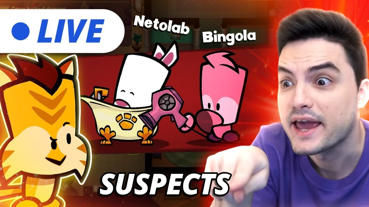 LIVE – SUSPECTS COM NETOLAB! [+10]