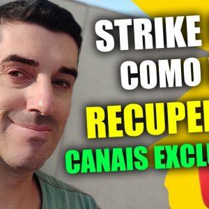 Como Recuperar Canal que tomou Strike | Recuperar canal secundário Excluido pelo Youtube Facilmente