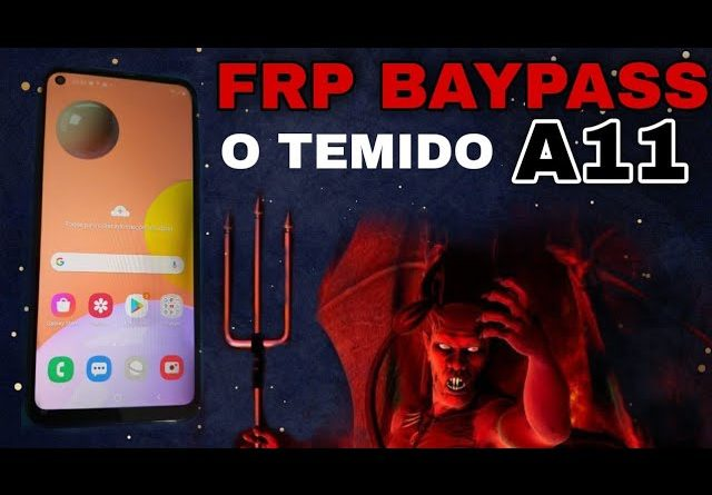 frp bypass google accont A11 remover conta Google A11 /  A115M Android 10 patch março