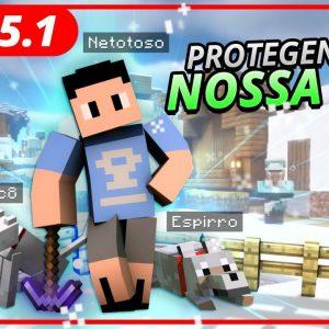 PROTEGENDO A NOSSA VILA! MINECRAFT #05.1 #T2 [+10]