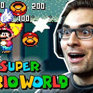 SUPER MARIO WORLD #5 - Uma NOVA ESTAÇÃO!!!