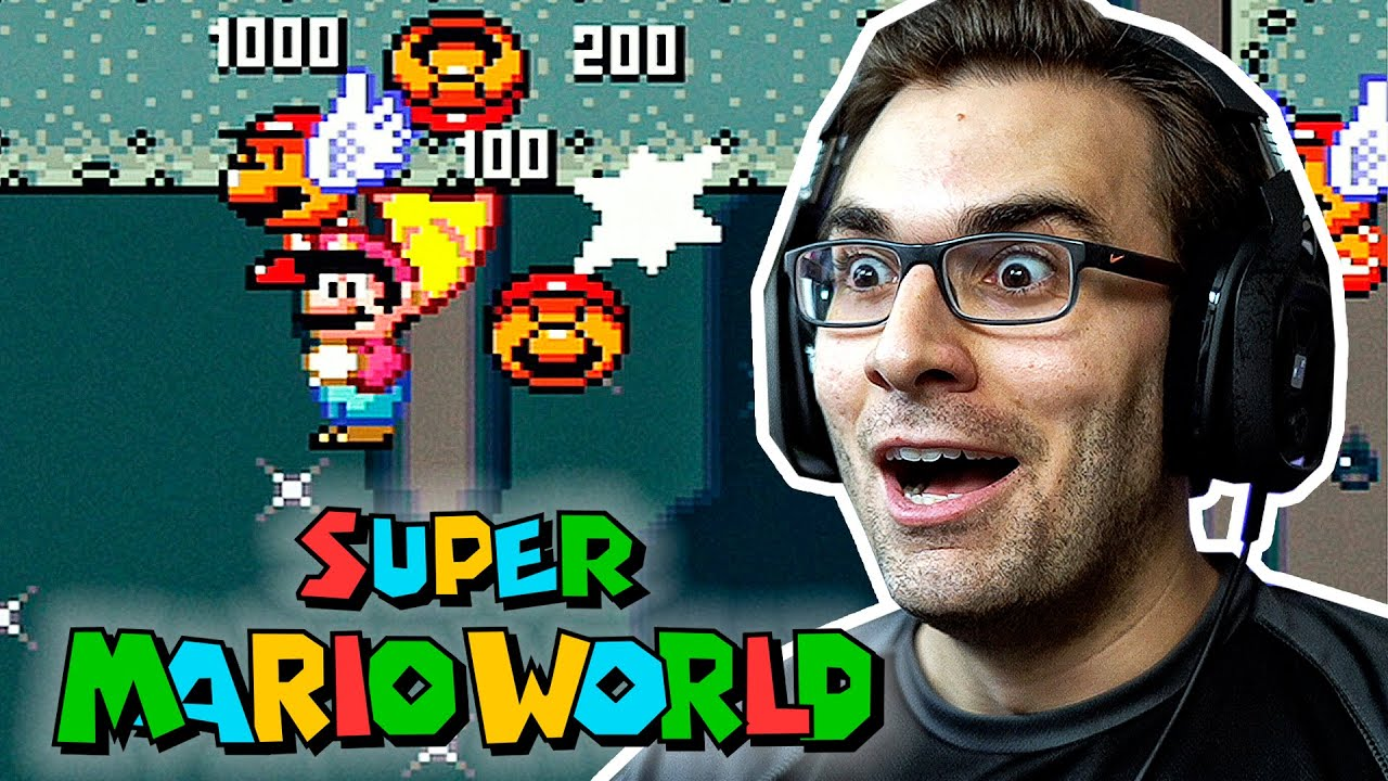 SUPER MARIO WORLD #5 – Uma NOVA ESTAÇÃO!!!