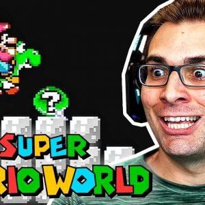 SUPER MARIO WORLD #9 - Entrando no Mundo do BOWSER!?