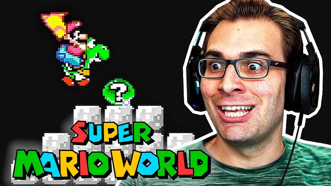 SUPER MARIO WORLD #9 – Entrando no Mundo do BOWSER!?