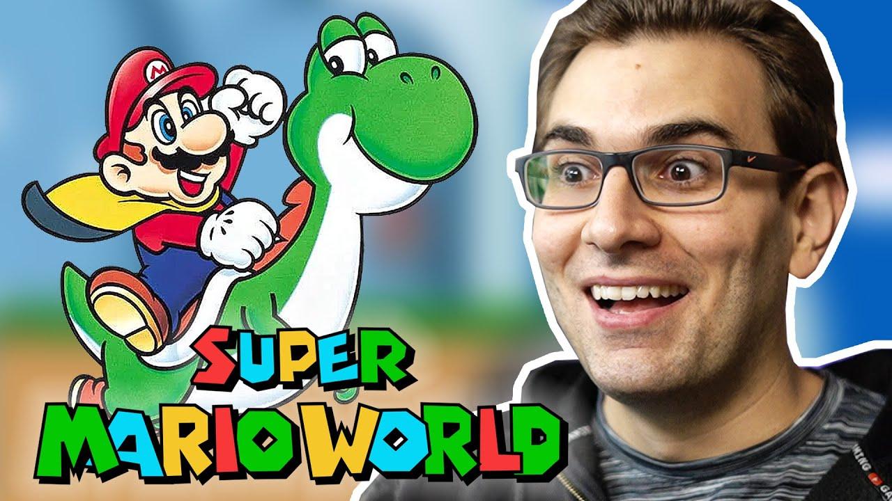 SUPER MARIO WORLD – Início de Gameplay do Clássico da Nintendo!