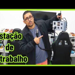 ESTAÇÃO DE RETRABALHO TOP PARA REMOVER FPC E FAZER REBALLING (TRITECH 902).