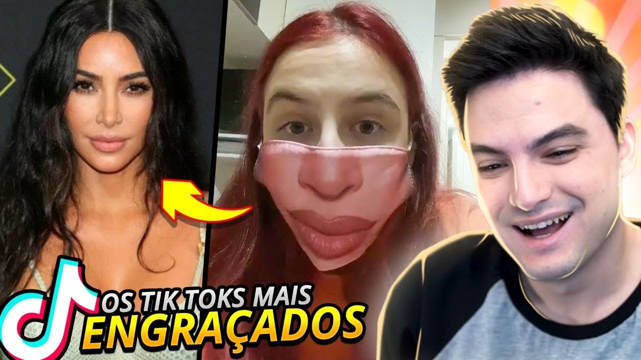 TIKTOKS QUE DE FATO SÃO ENGRAÇADOS!