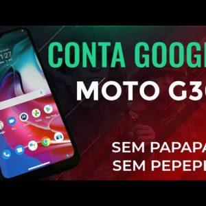 remover conta Google moto g30 Android 11 sem PC simples Básicos e fácil