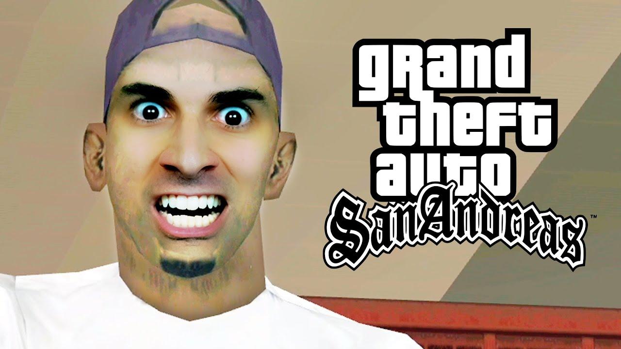 GTA San Andreas #33 РA Manṣo do Madd Dogg em Los Santos!