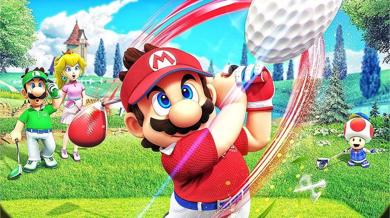 Novo EXCLUSIVO de Nintendo Switch   Mario Golf Super Rush Gameplay